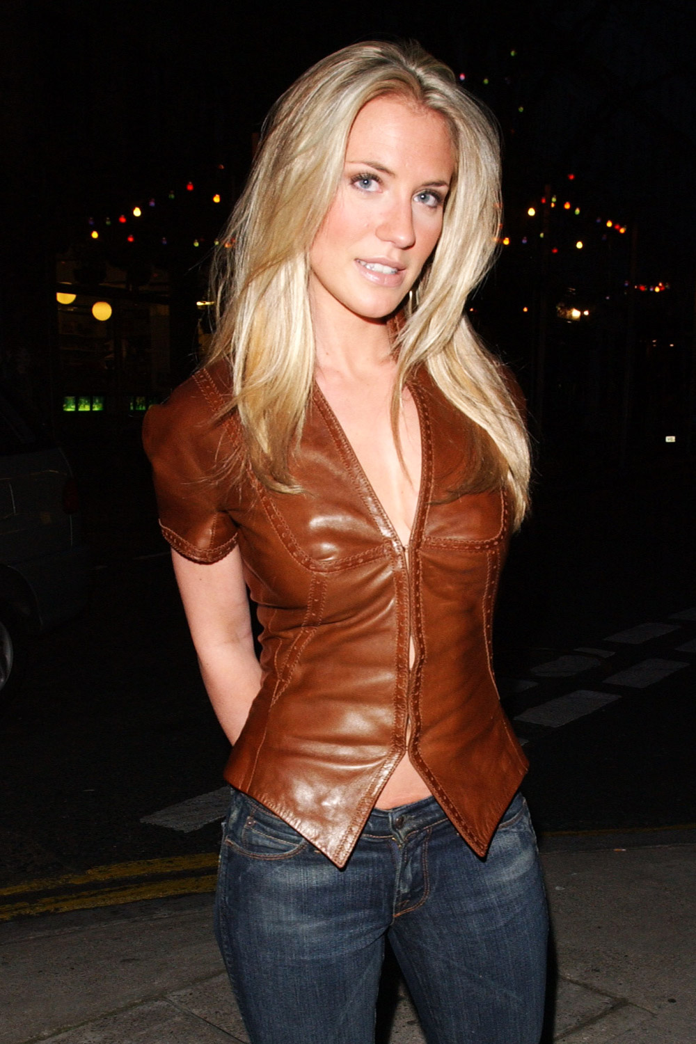 Georgie Thompson leather top