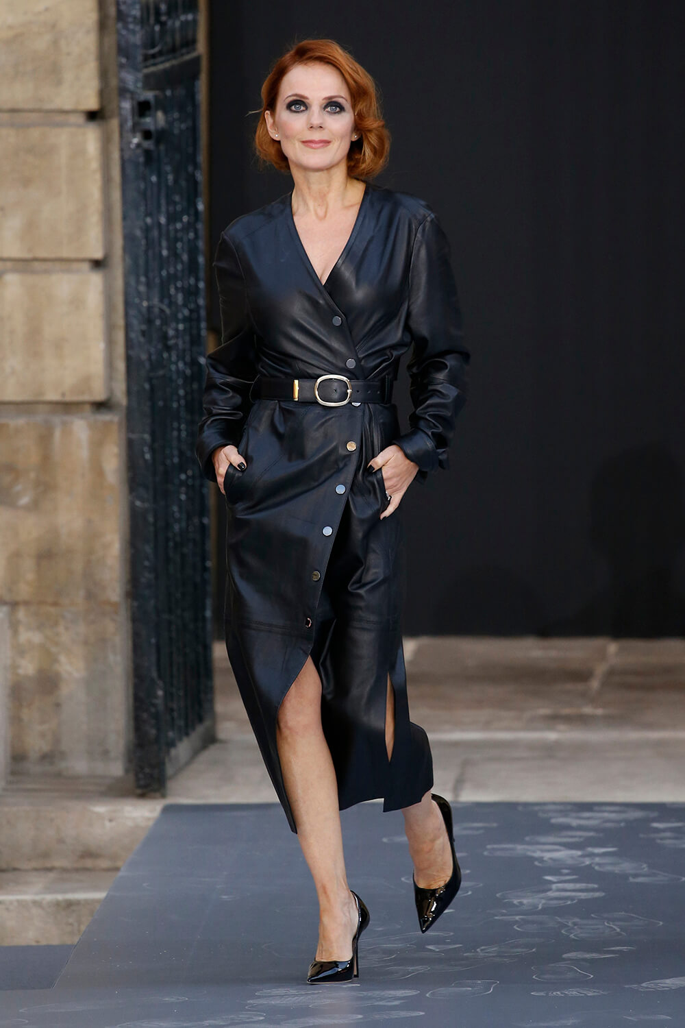 Geri Halliwell walks the runway during the ''Le Defile L'Oreal Paris'' Show