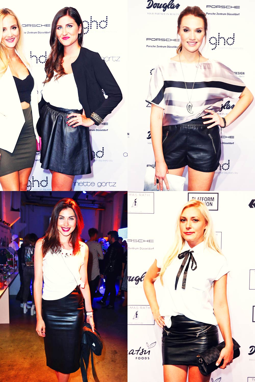 German Celebs attend Platform Fashion Events