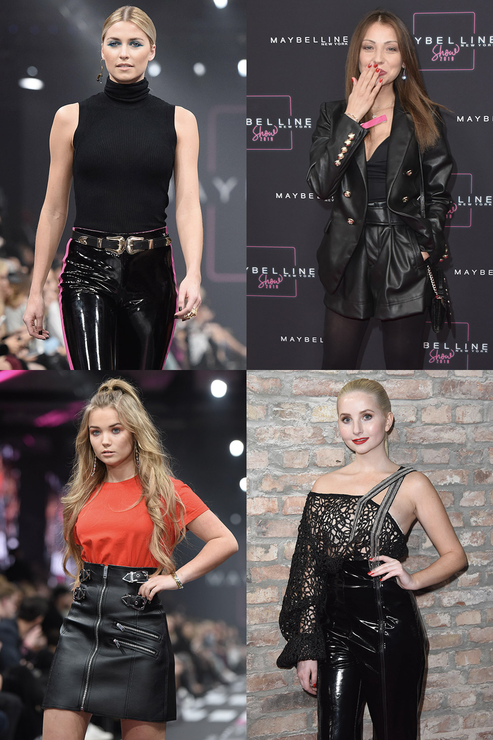 German celebs attend Maybelline Show Fashion Week Berlin