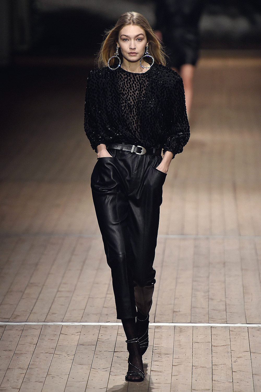 Gigi Hadid walks for Isabel Marant