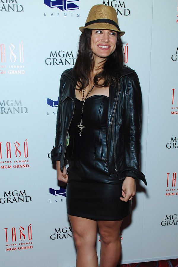 Gina Carano at Tabu Ultra Lounge