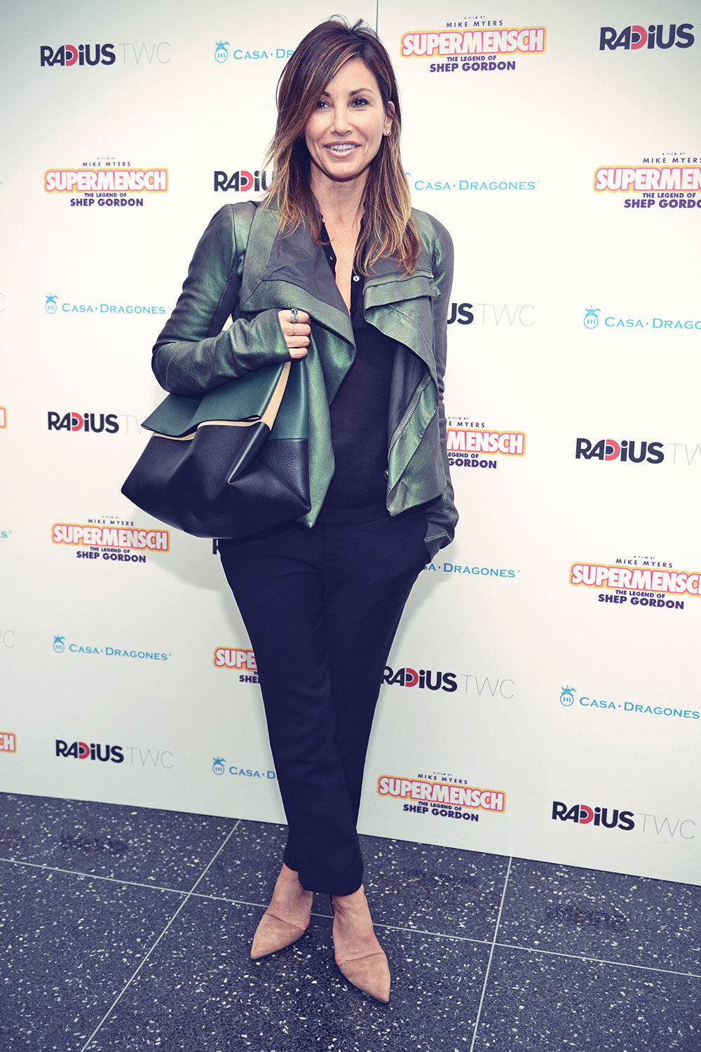 Gina Gershon attends Supermensch The Legend Of Shep Gordon Screening