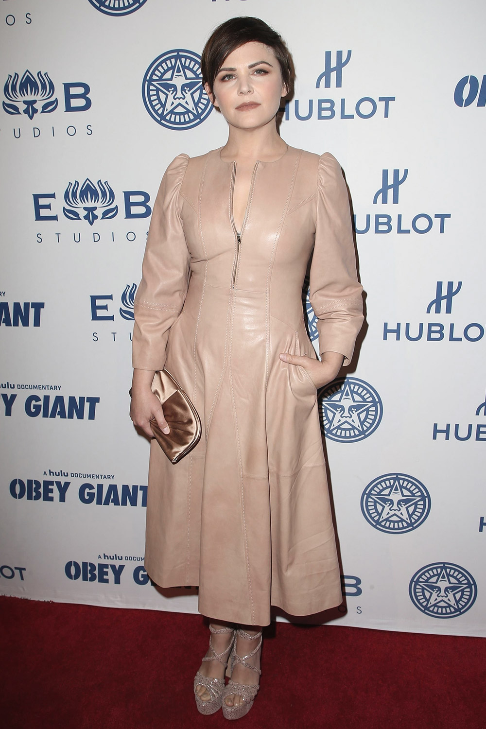 Ginnifer Goodwin attends Hulu's 'Obey Giant' Premiere