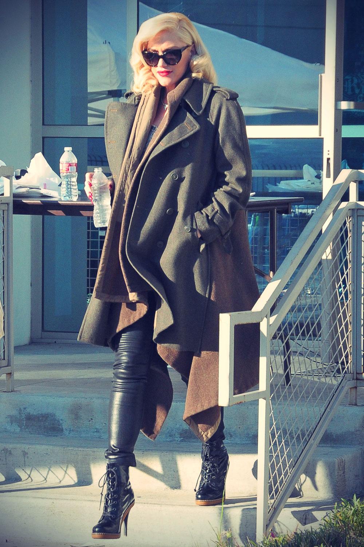 Gwen Stefani runs errands in LA