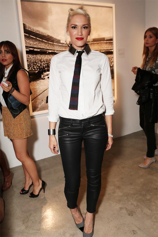 Gwen Stefani at Exposure 2 Photo Exhibit