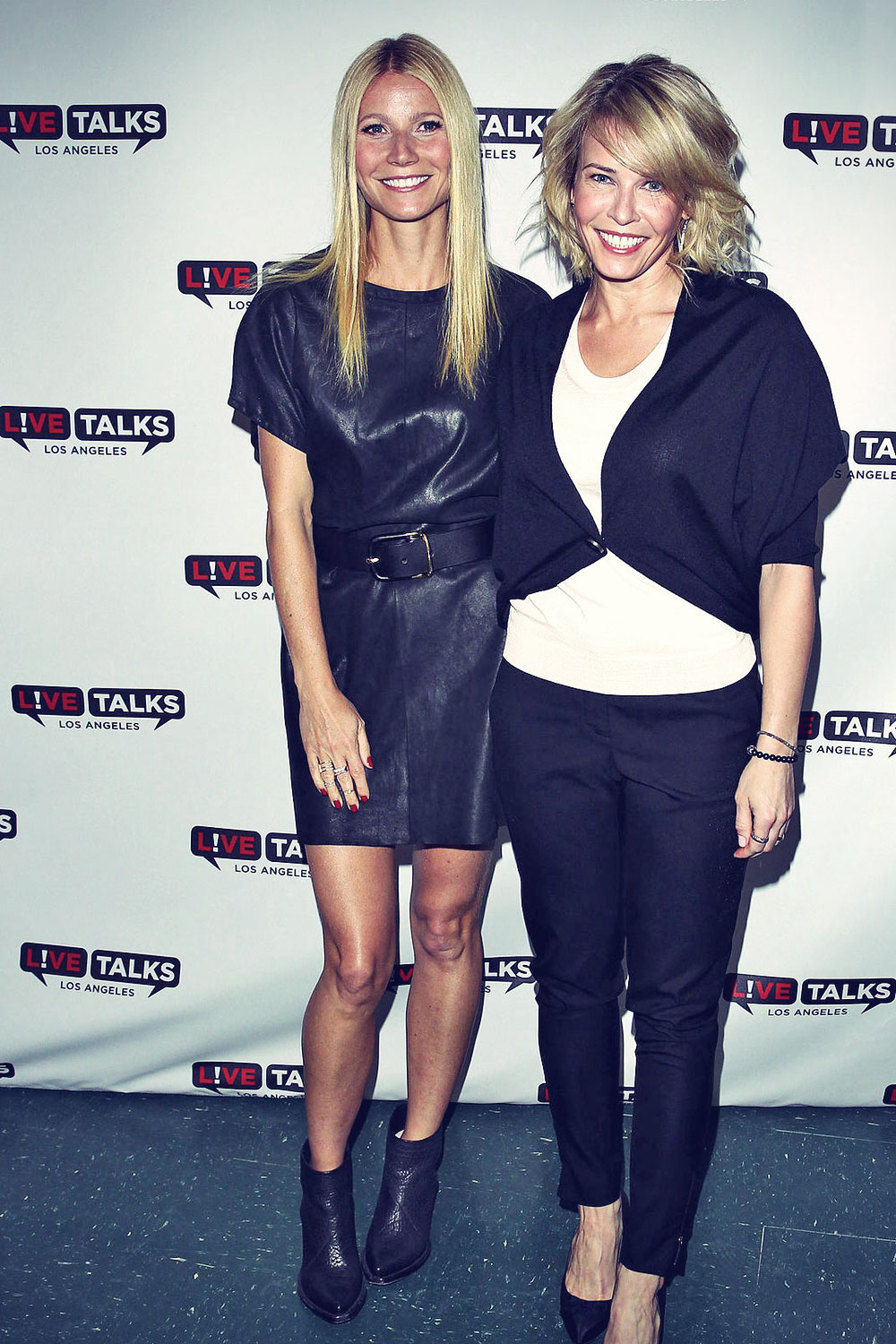 Gwyneth Paltrow poses at the Live Talks Los Angeles
