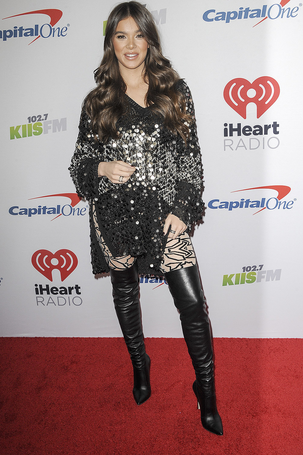 Hailee Steinfeld attends The KIIS FM Jingle Ball