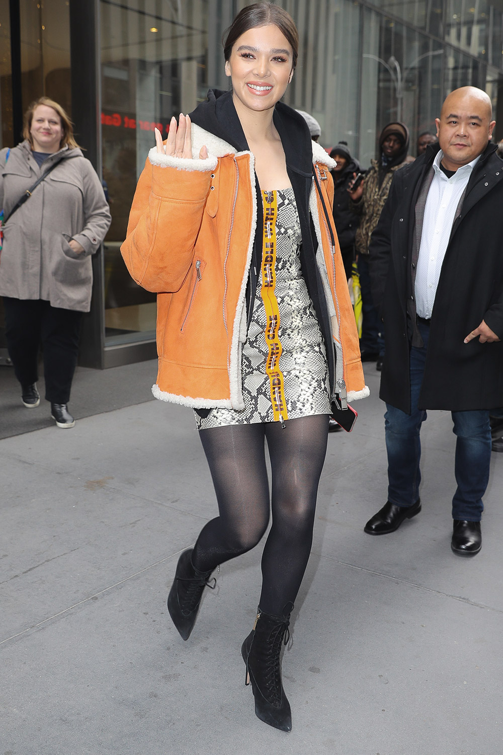 Hailee Steinfeld out and about in NYC