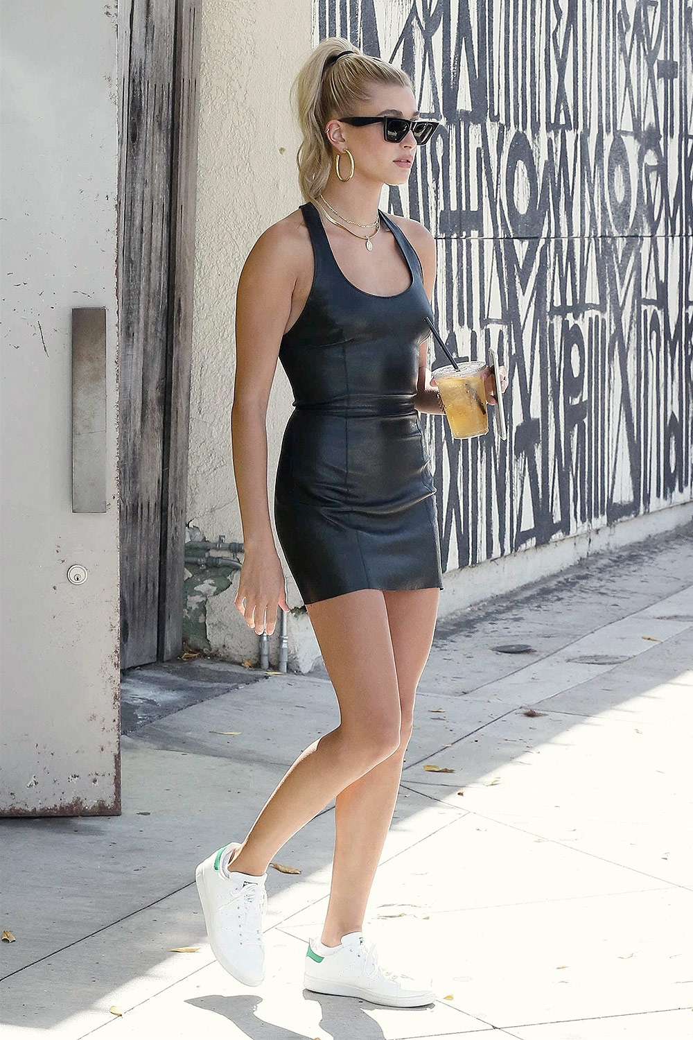 Hailey Baldwin out in LA
