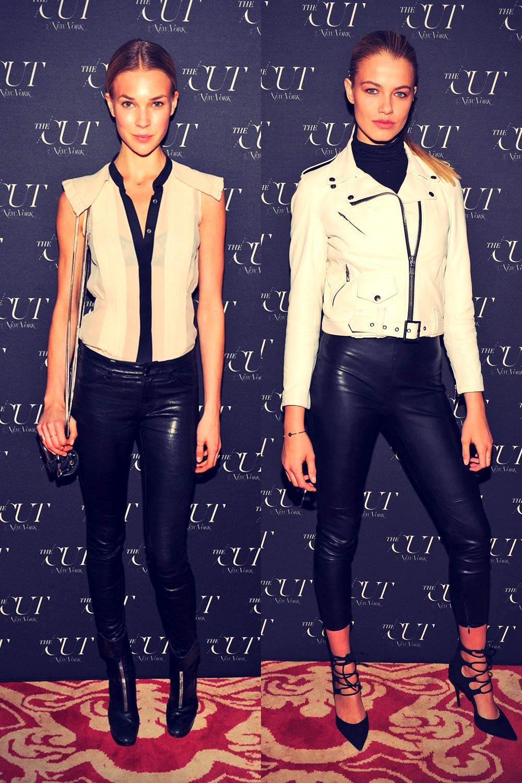 Hailey Clauson & Britt Maren attend The Cut & New York Magazine's Fashion Week Party