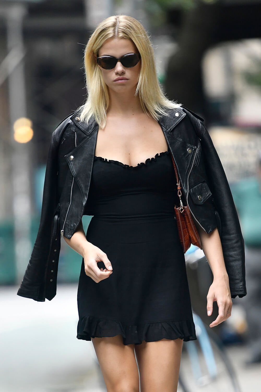 Hailey Clauson out in East Village