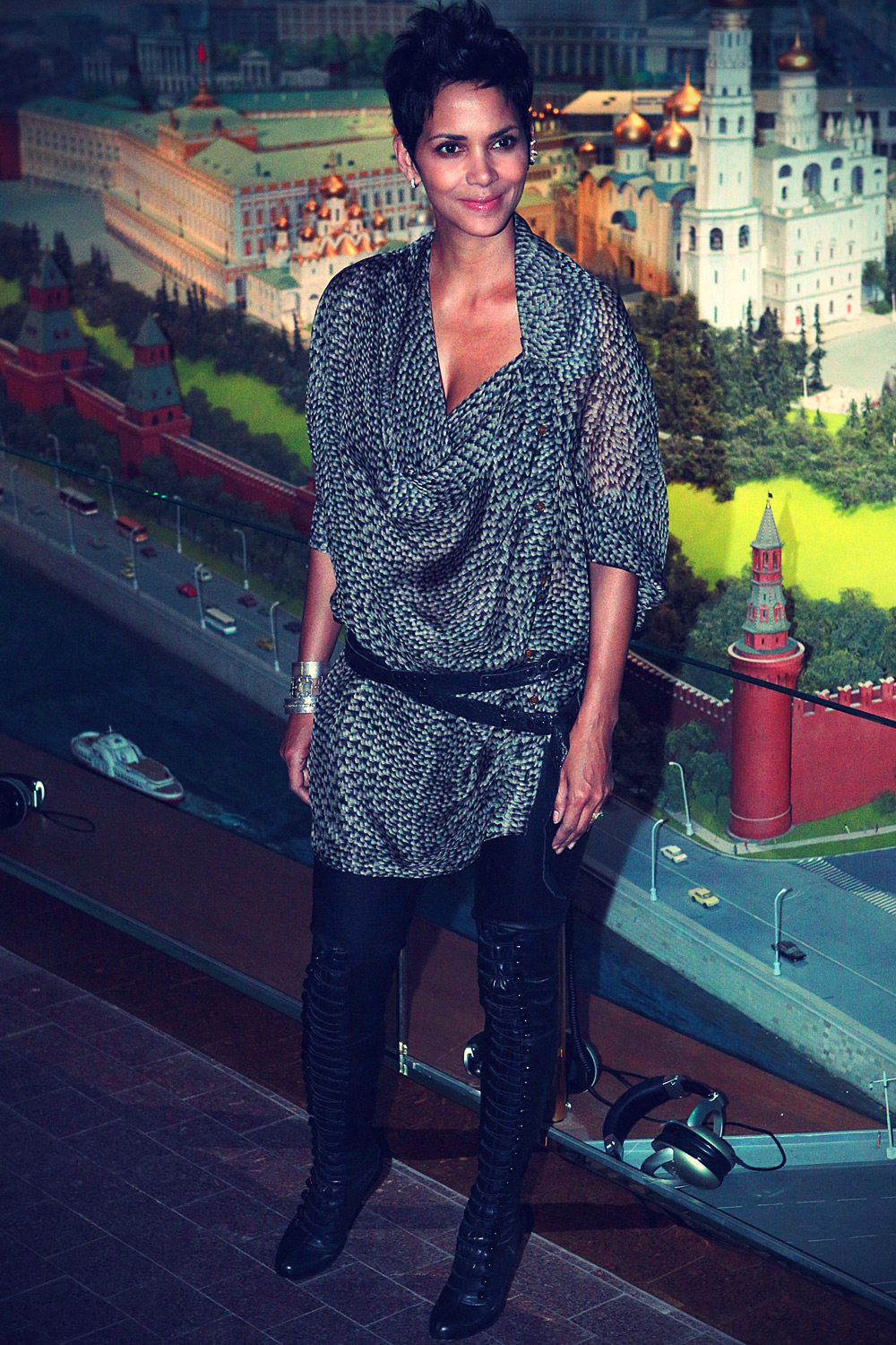 Halle Berry during a photocall for the premiere of Cloud Atlas
