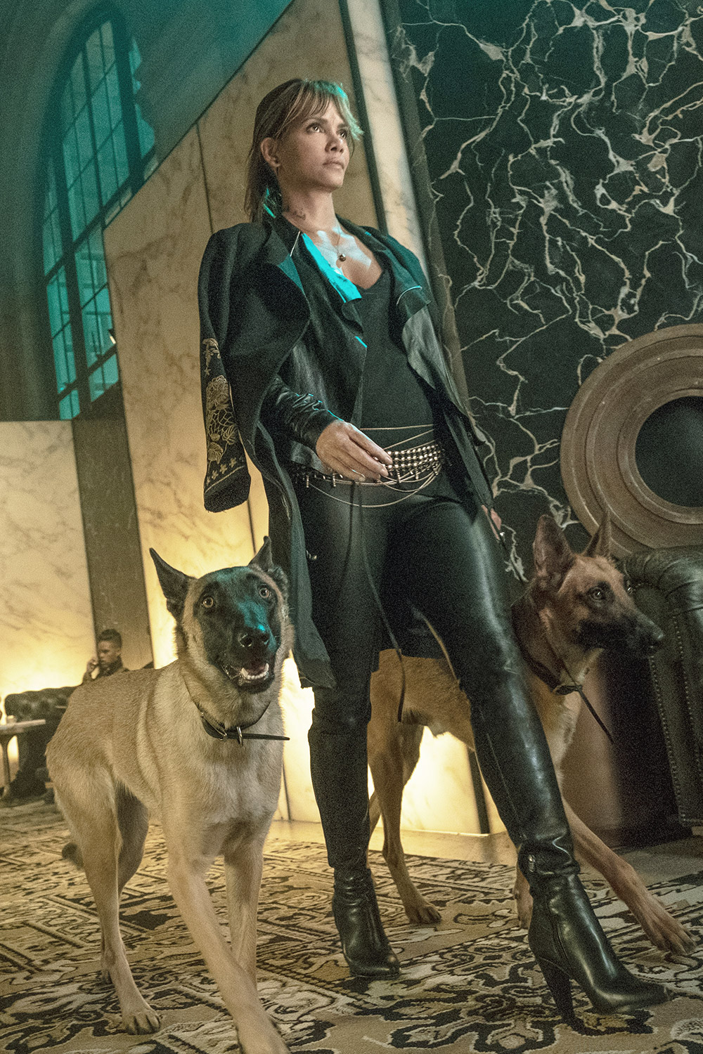 Halle Berry filming new movie John Wick Chapter 3