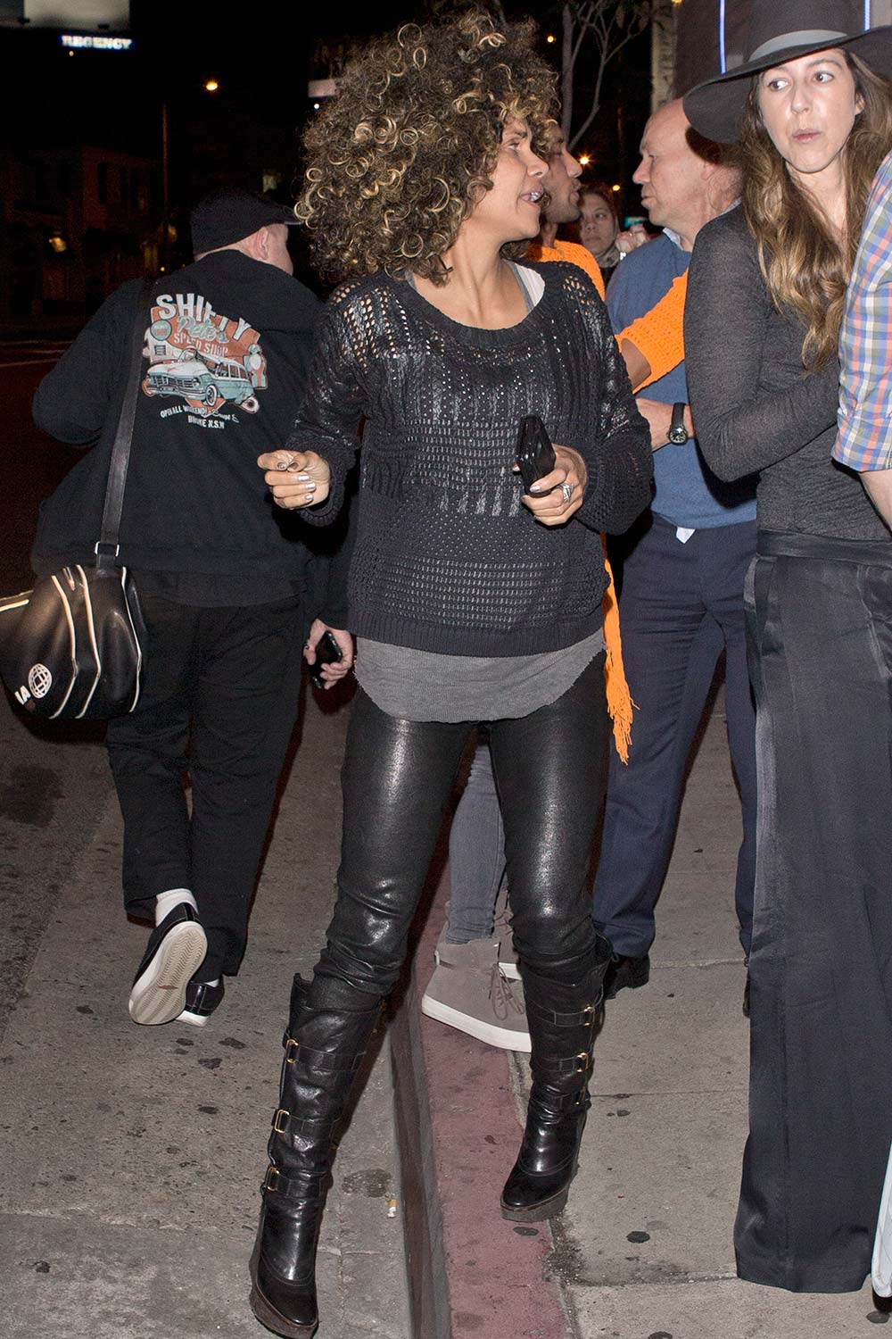 Halle Berry night on the town in LA