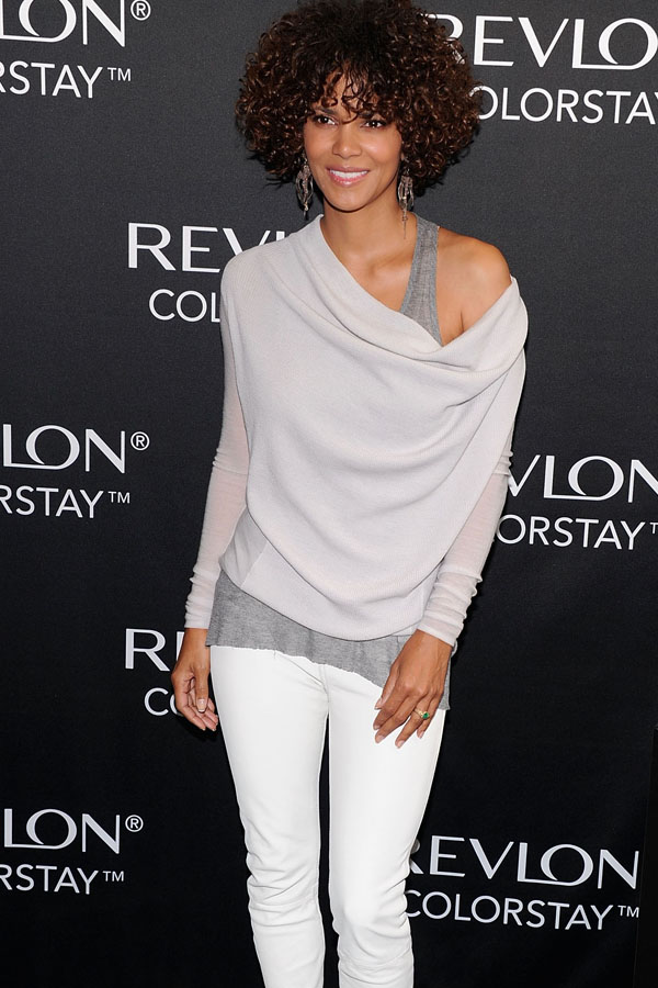 Halle Berry at Revlon ColorStay Launch