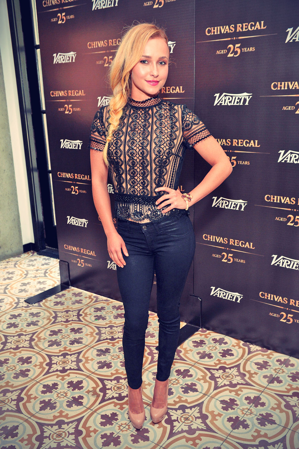 Hayden Panettiere at Variety Emmy Studio