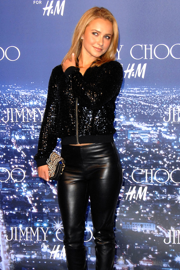Hayden Panettiere at Jimmy Choo and H&M Collaboration Launch