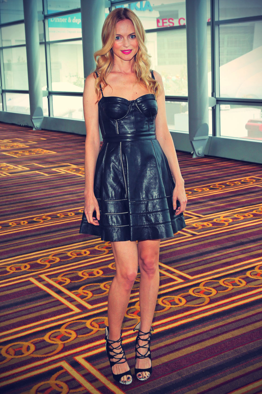 Heather Graham attends Echoes Of Hope's 3rd Annual Celebrity Charity Poker Tournament