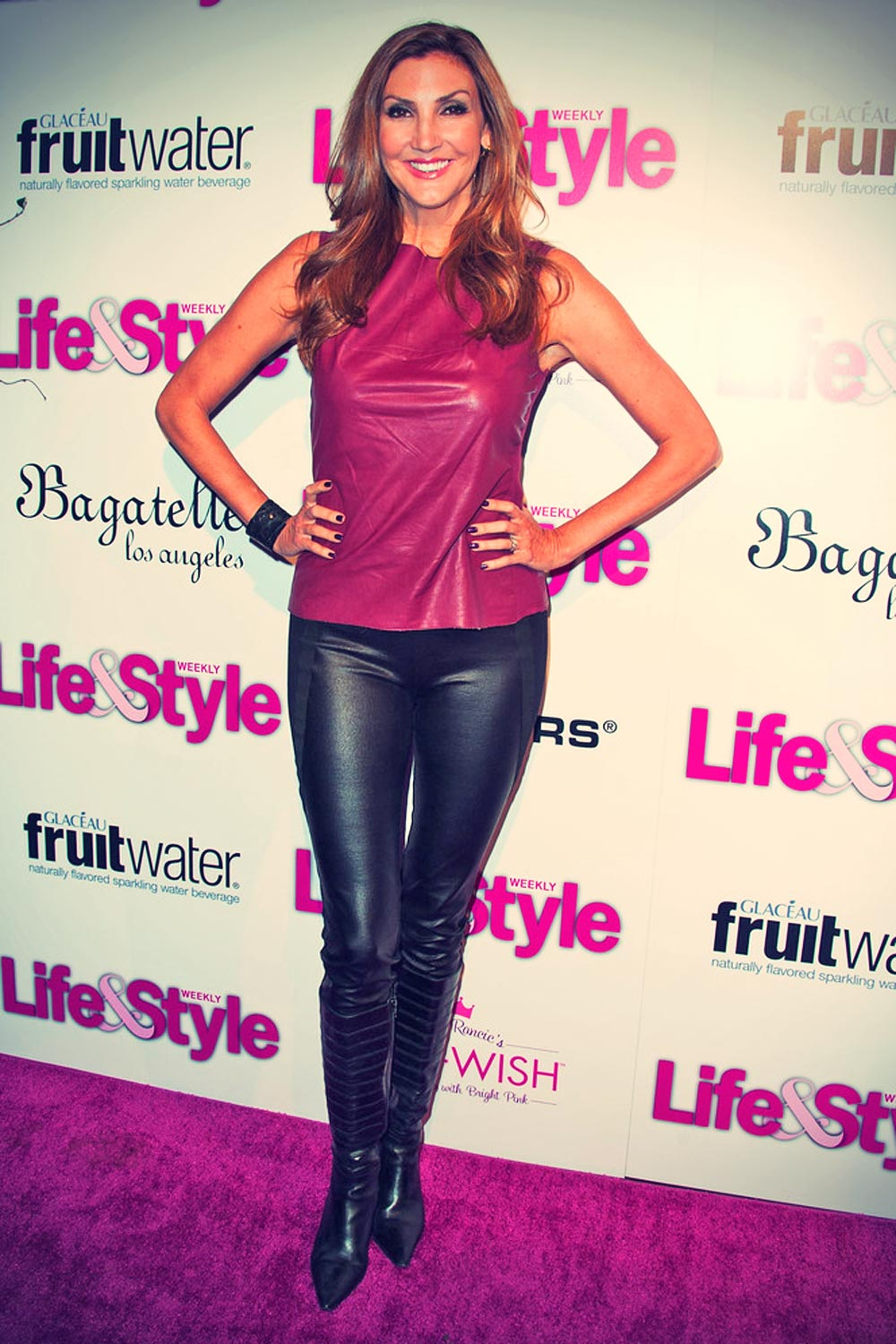 Heather McDonald attends Life & Style's Hollywood in bright pink event