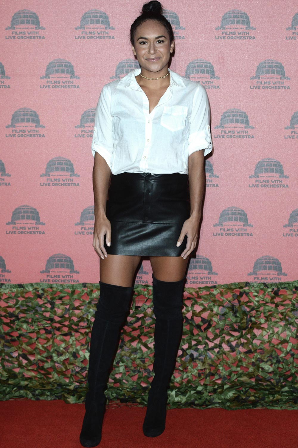 Heather Watson attends Jurassic Park Live