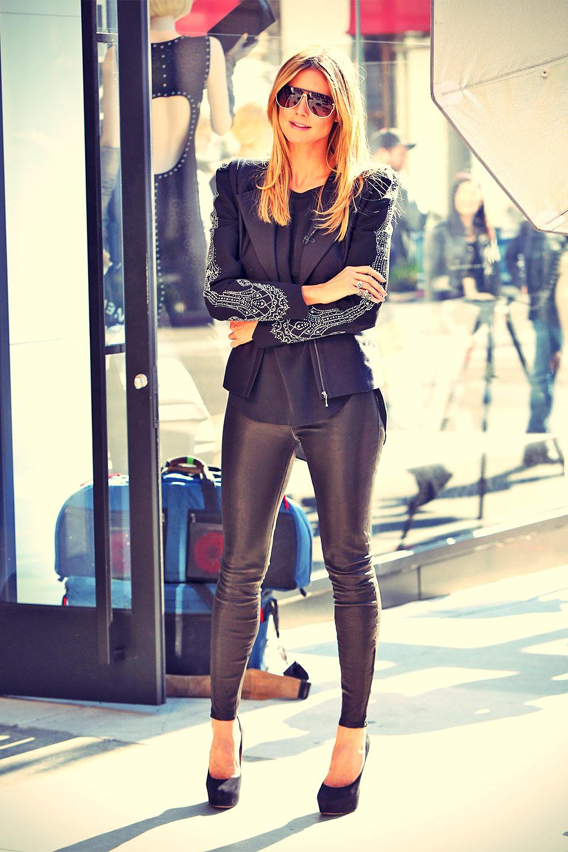 Heidi Klum Filming Germany´s Next Topmodel