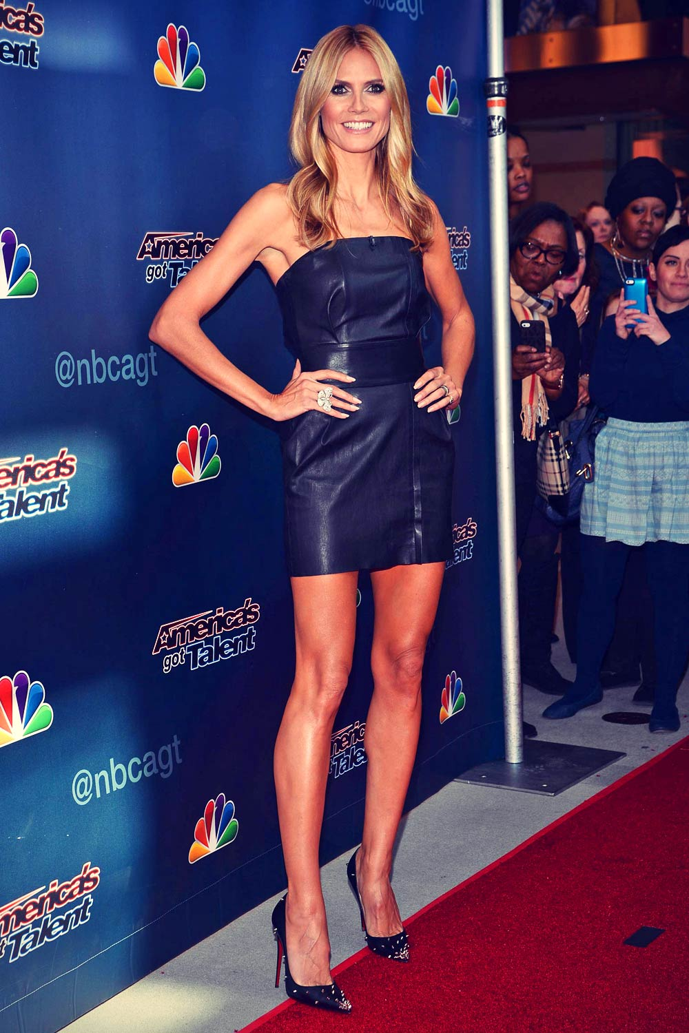 Heidi Klum attends America Got Talent Season 10 Auditions