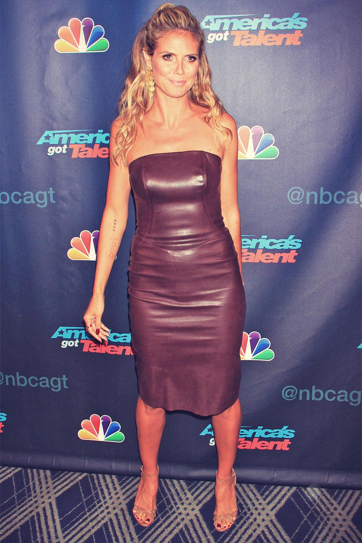 Heidi Klum attends America's Got Talent