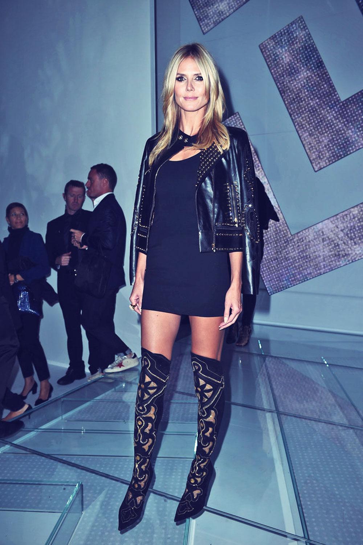 Heidi Klum attends Ver... Avril Lavigne