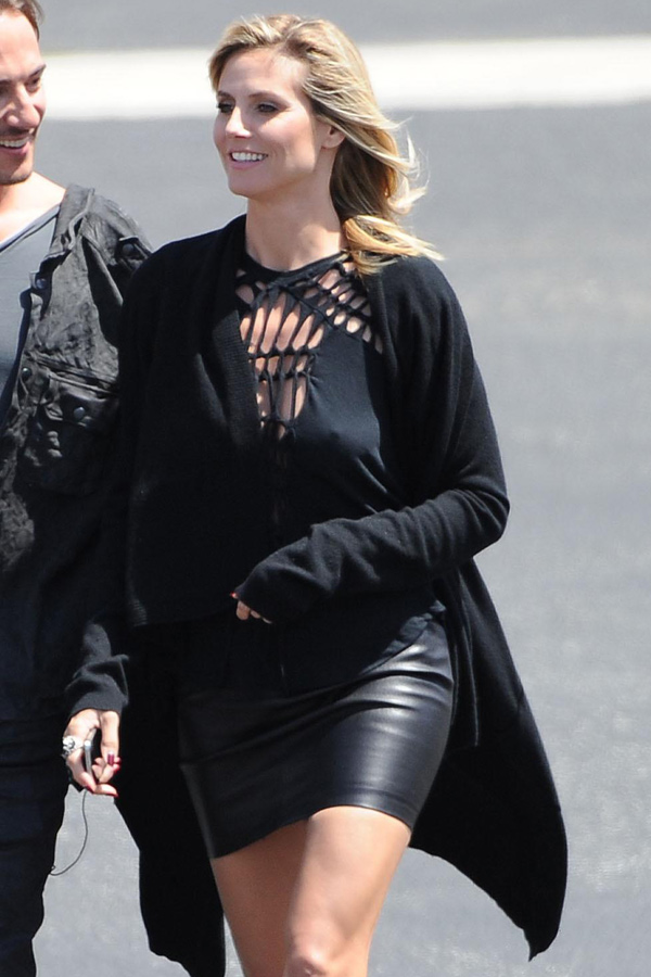 Heidi Klum at Germany's Next Top Model