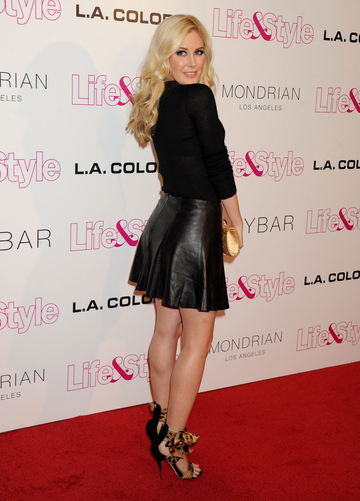Heidi Montag attends Life & Style Weekly's 10th anniversary party