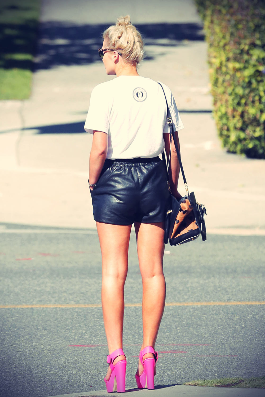 Helen Flanagan Shopping In LA