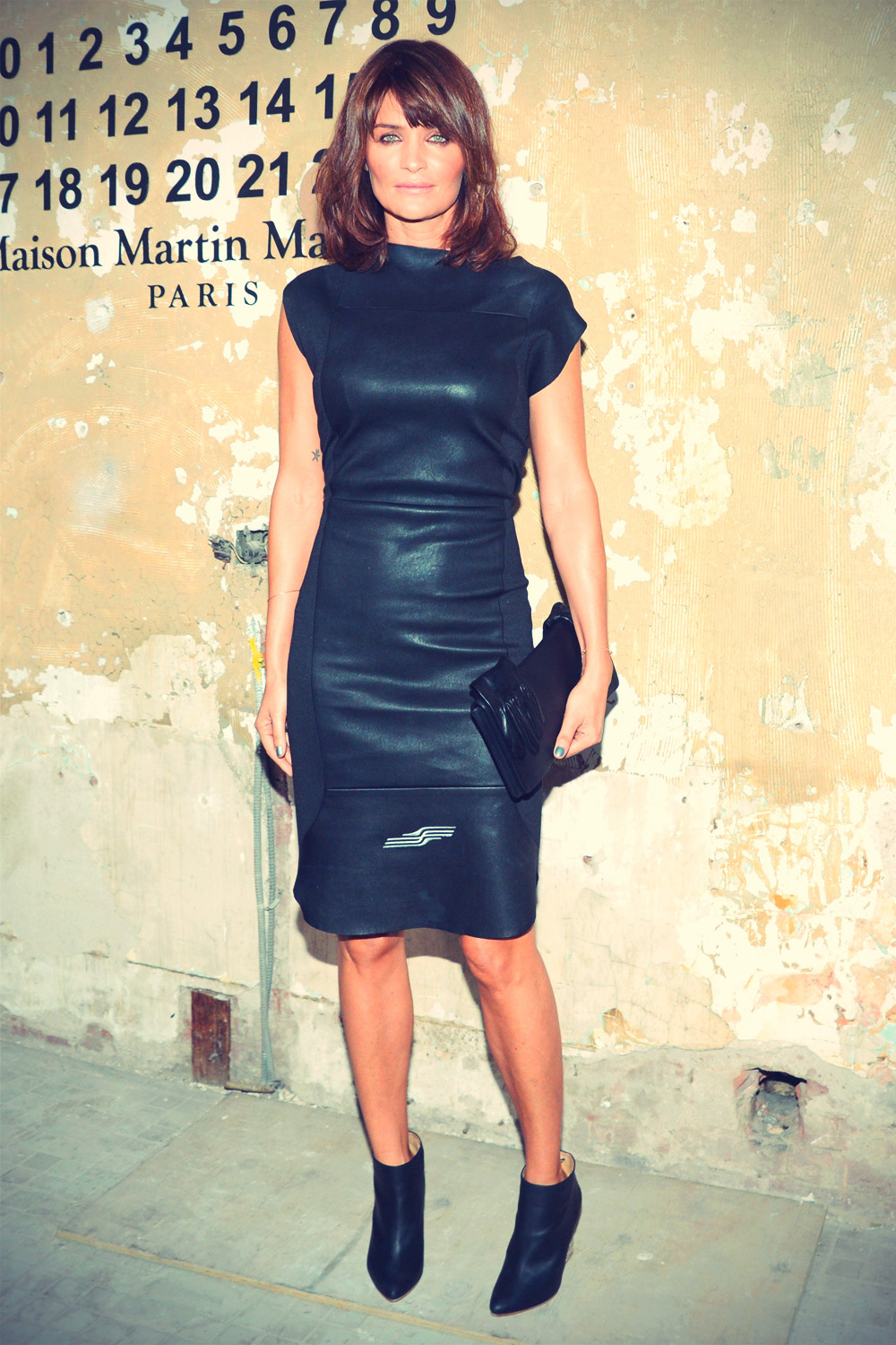 Helena Christensen at Maison Martin Margiela For H&M Launch Party