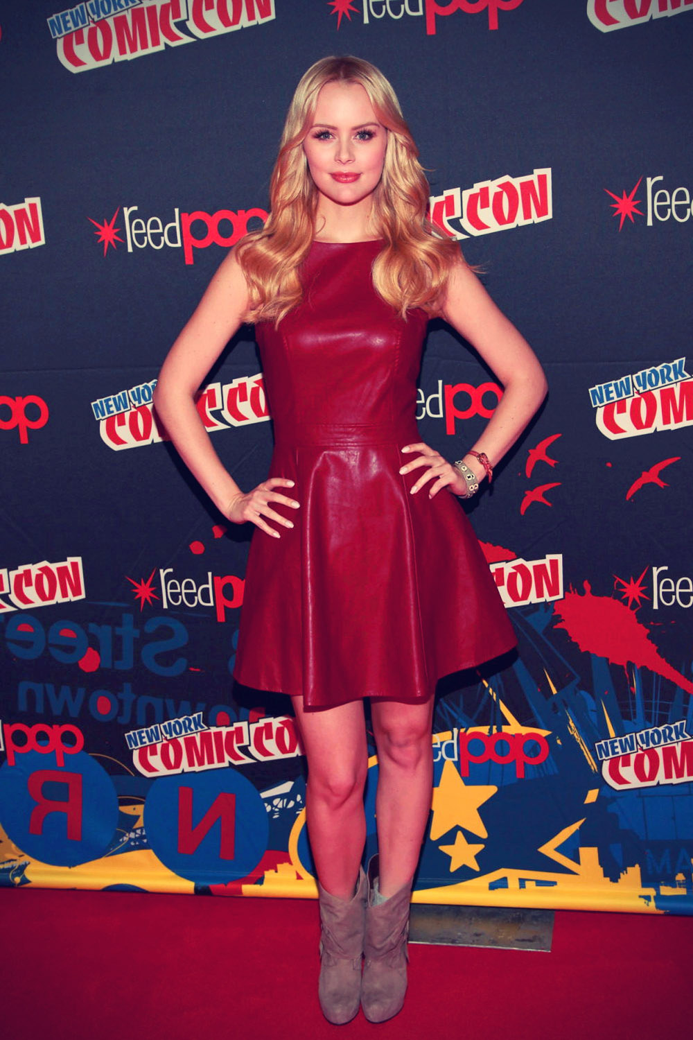 Helena Mattsson at the 2012 New York Comic Con