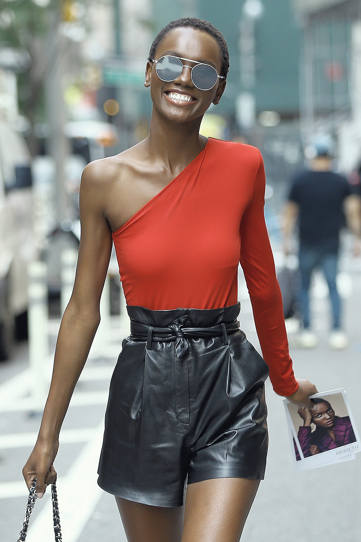 Herieth Paul attends callbacks for the Victoria's Secret Fashion Show