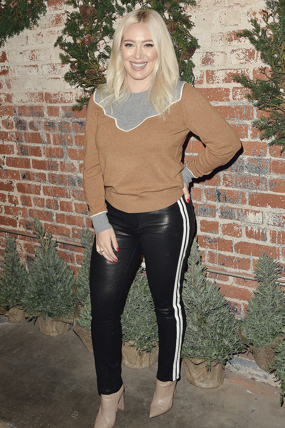 Hilary Duff attends 1st Annual Cocktails for a Cause