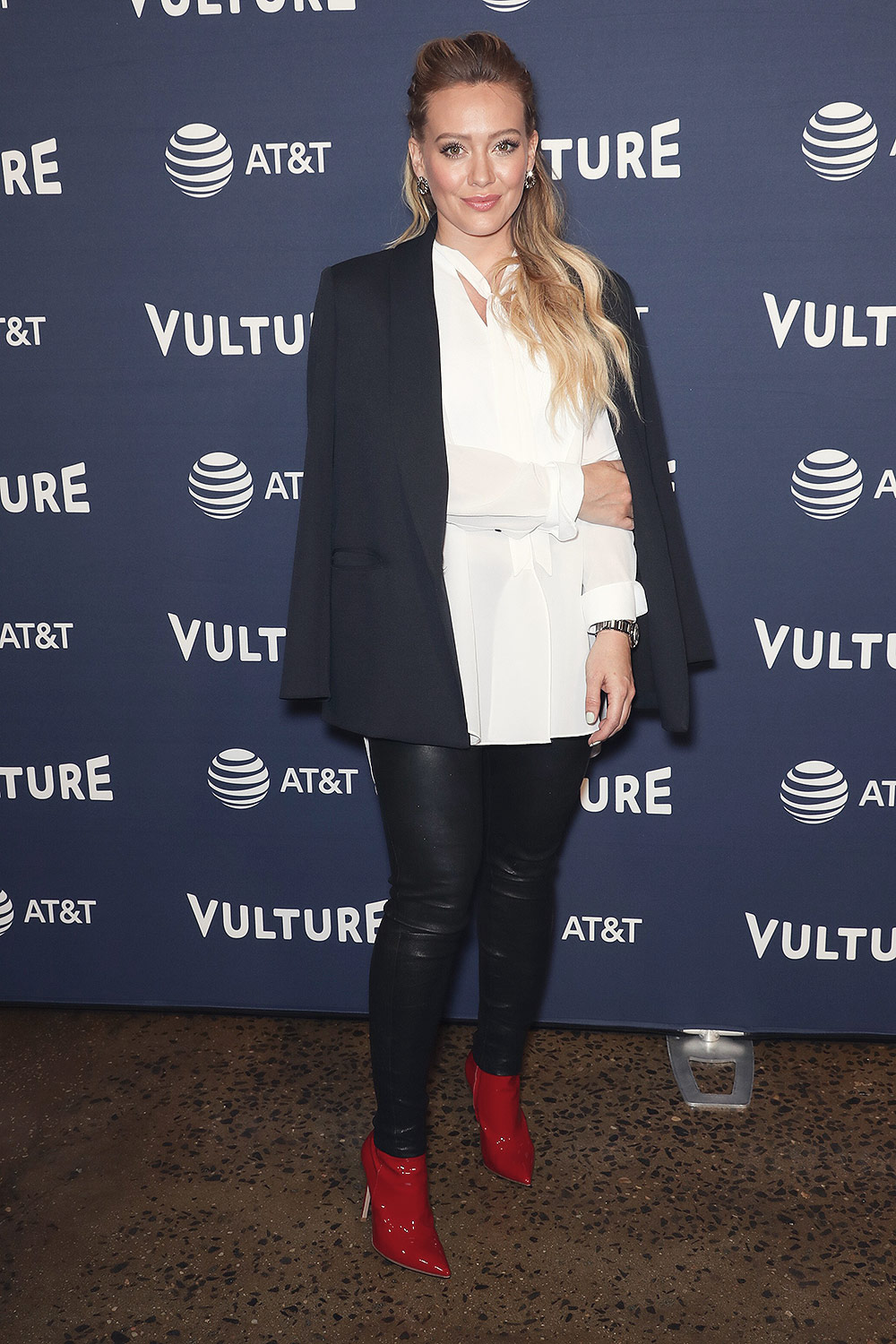 Hilary Duff attends Vulture Festival