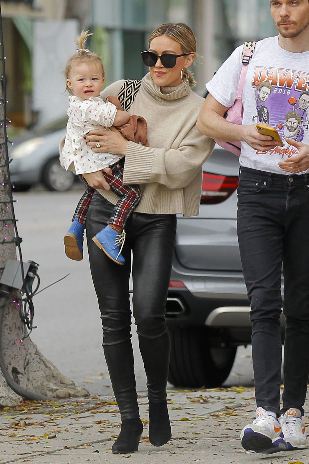 Hilary Duff out for lunch in Beverly Hills