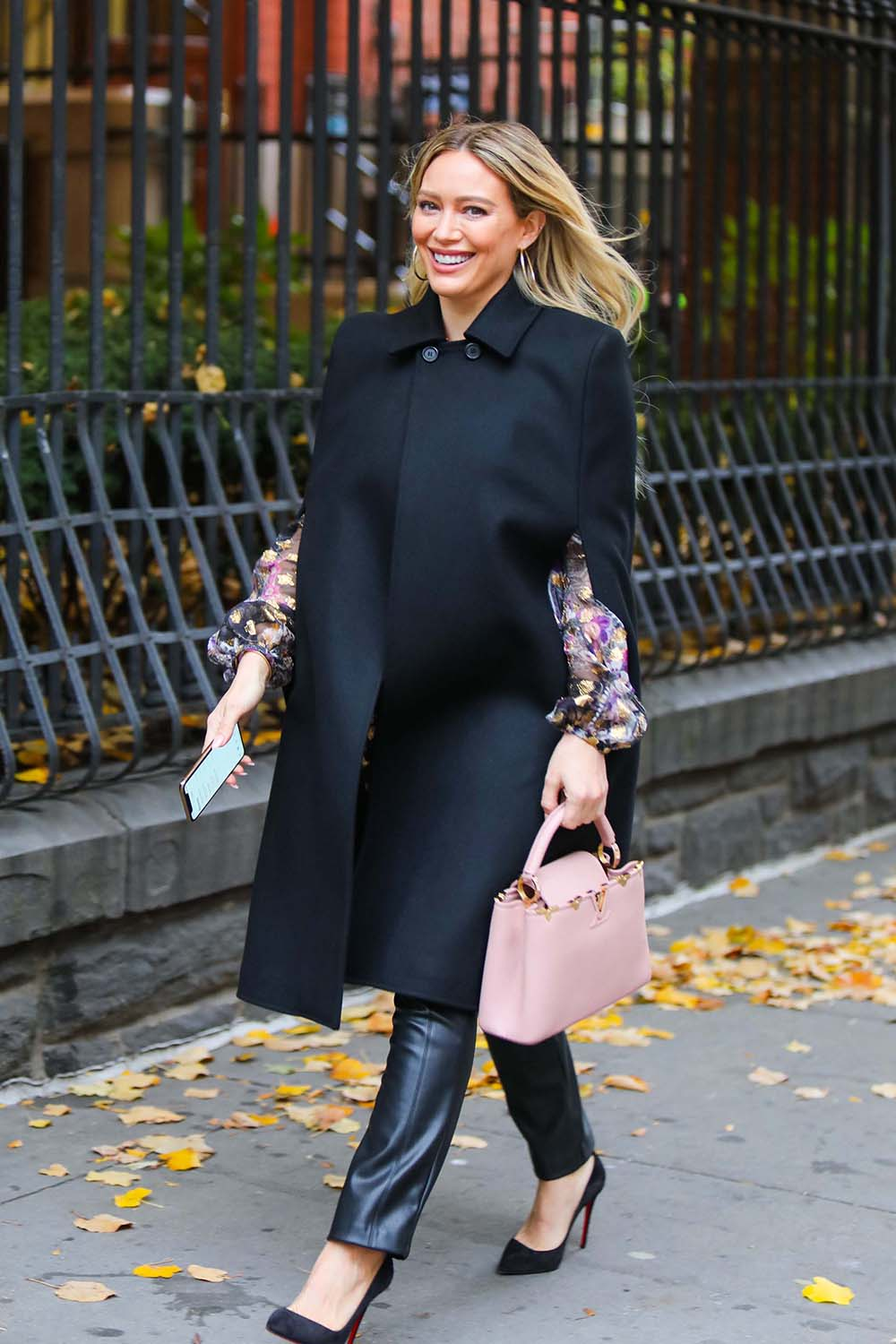 Hilary Duff seen on the set of Younger in New York City