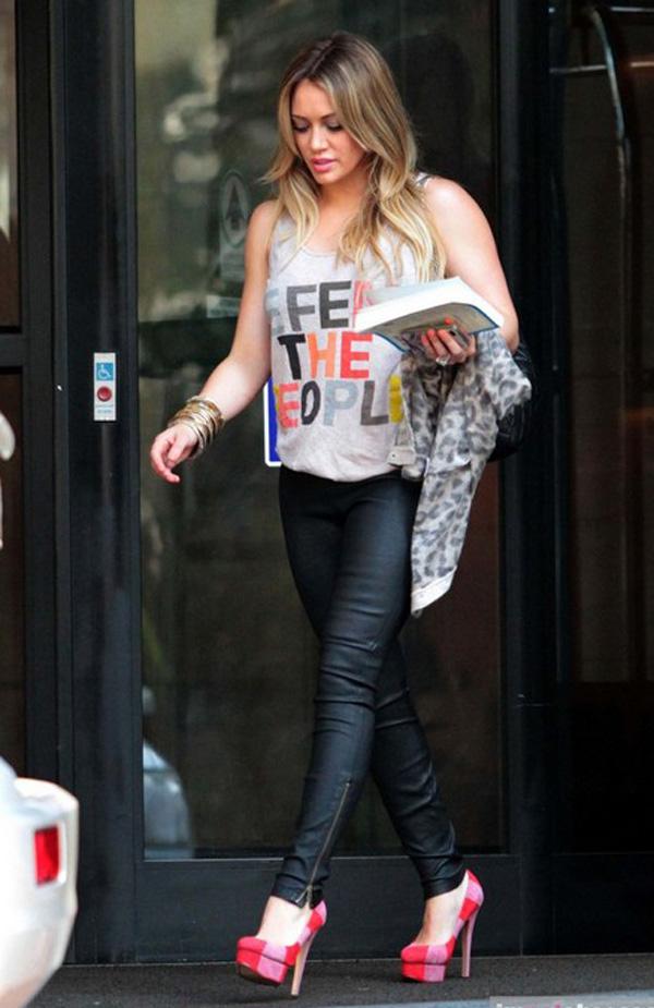 Hilary Duff shopping in Sao Paulo