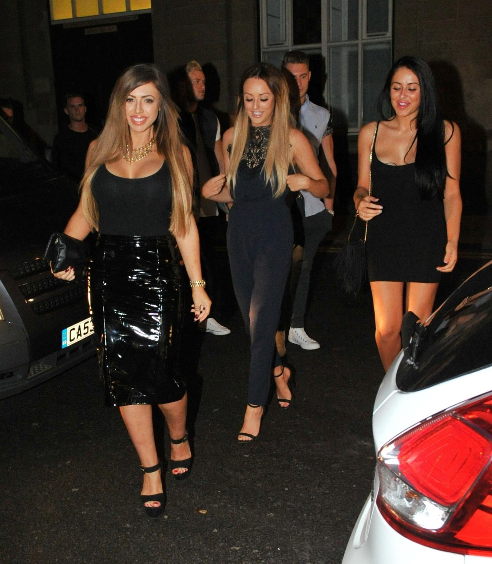 Holly Hagan night out in Newcastle