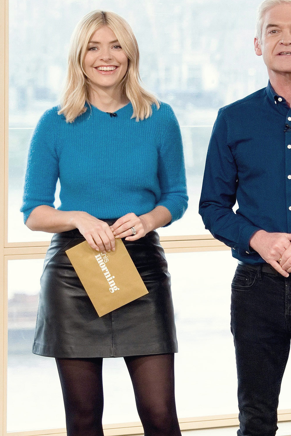 Holly Willoughby Leather