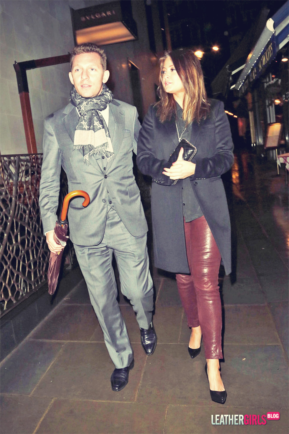 Holly Valance attends Mr Chow's Restaurant celebrating their 45th anniversary