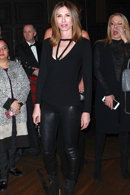 Carole Radziwill attends Dressed to Kilt fashion show and ball