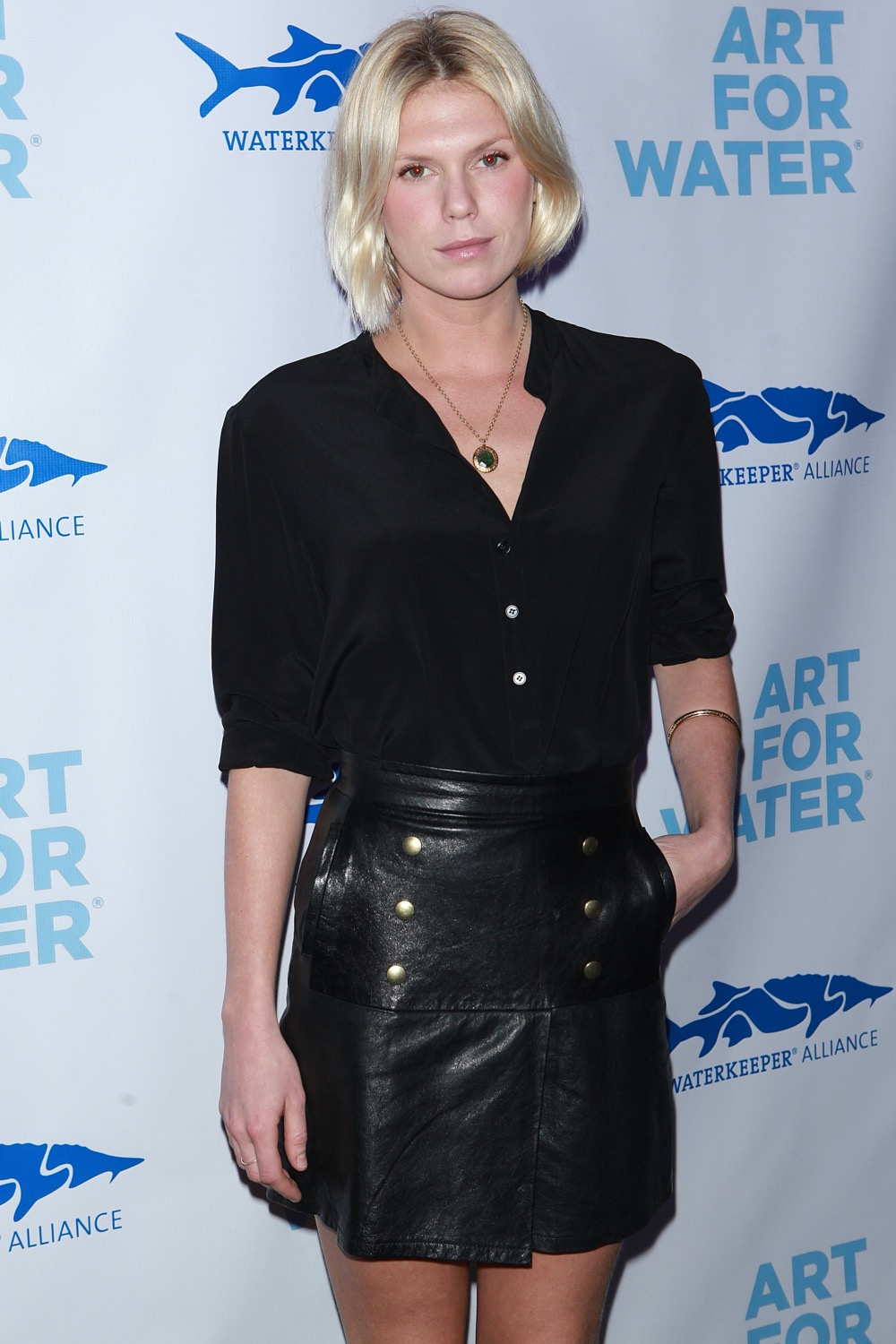 Alexandra Richards attends Art For Water benefitting Waterkeeper Alliance Charity