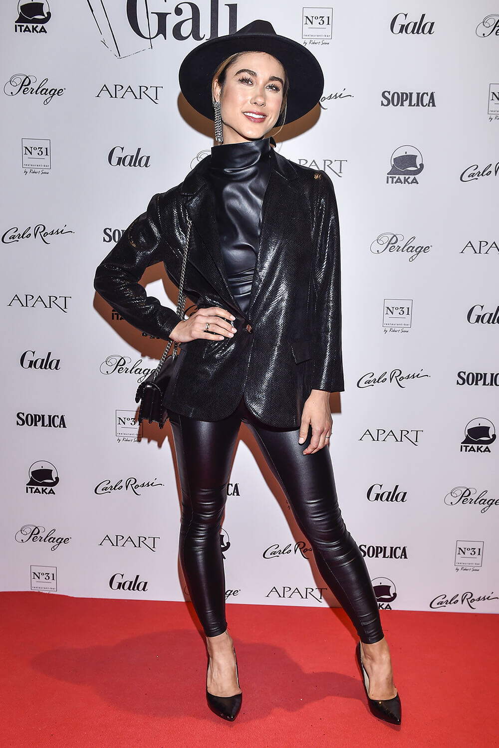 Ida Nowakowska Attends Gala Of Roses Leather Celebrities