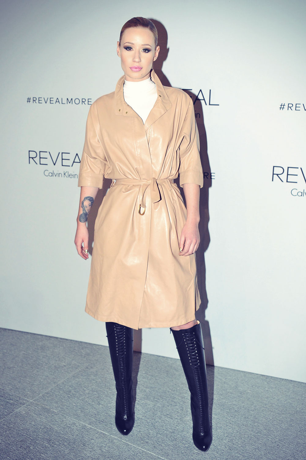 Iggy Azalea Attends Reveal Calvin Klein Fragrance Launch