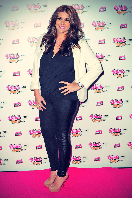 Imogen Thomas attends Wink Bingo Celebrity Female Takeover