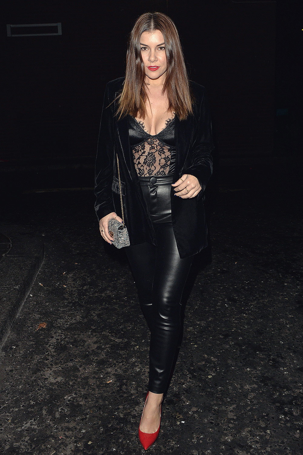 Imogen Thomas at Park Chinois Chinese restaurant
