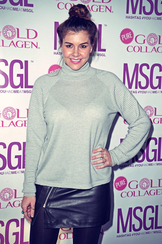 Imogen Thomas attends MediaSKIN NTA Gifting Lounge